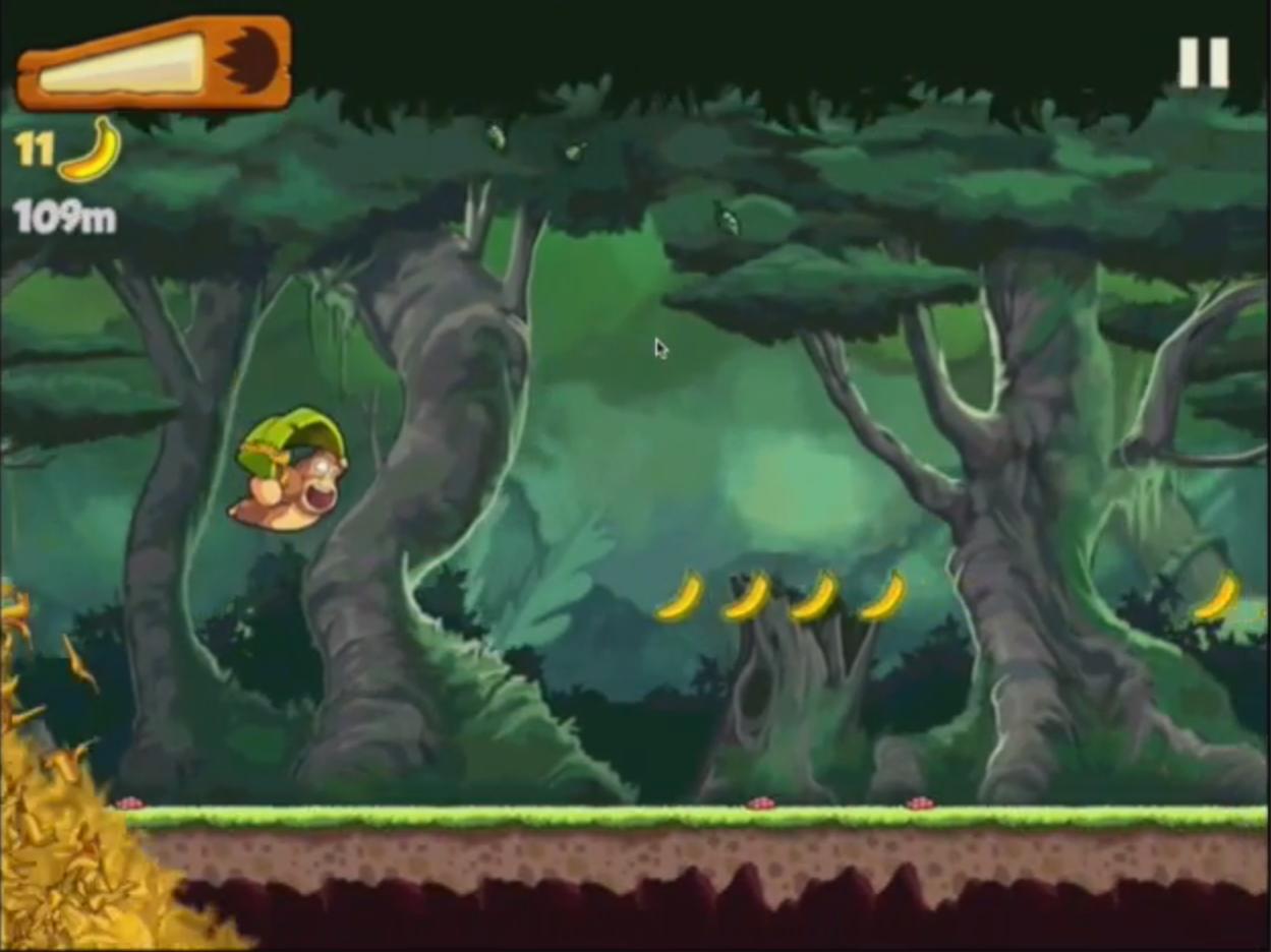 Análisis del juego para iPhone Banana Kong