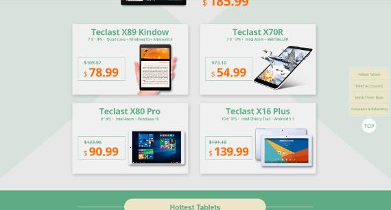 Teclast MEGA Sale