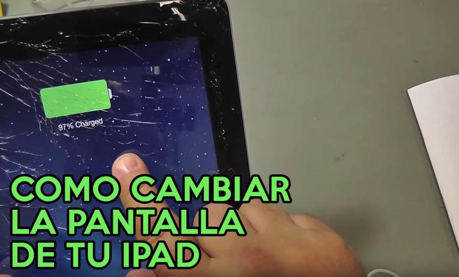 Cómo Reparar y Cambiar la Pantalla Rota de tu iPad
