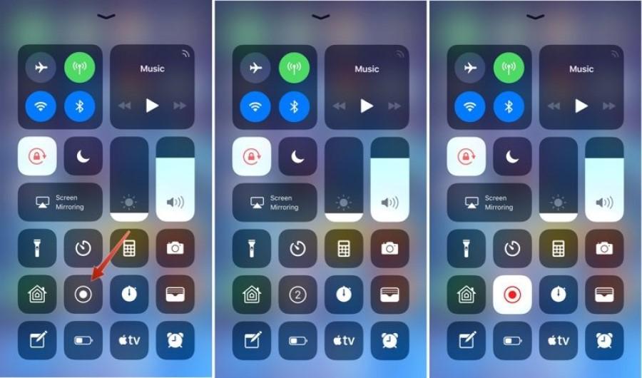 Grabar pantalla iOS
